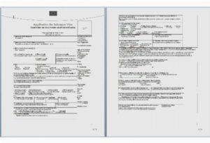 Образец заполнения анкеты на визу в швейцарию. Образец анкеты для визы в швейцарию
