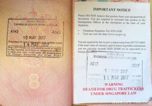 Пони экспресс виза в сингапур. Алгоритм получения транзитной визы в Сингапур