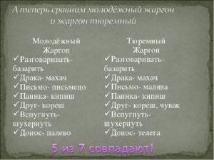 Тюремные понятия словарь. Блатной жаргон, по фене