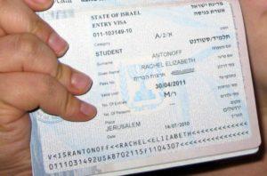 Какая виза нужна для поездки в израиль. Когда виза не нужна? Страны запрещающие въезд с израильской визой