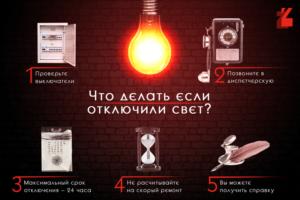 Как узнать когда дадут свет. Если нет электроэнергии куда звонить