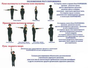 Определение регулировщик пдд. Как легко запомнить жесты регулировщика? Руки разведенные или опущенные вдоль тела