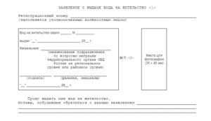 Заявление на вид на жительство на ребенка. Утеря ВНЖ: что делать, если потерян вид на жительство в РФ