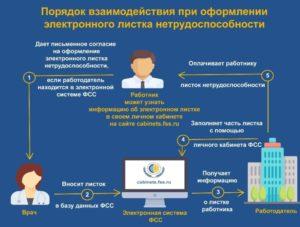Оформление электронного больничного листа: порядок, условия, действия работодателя. Электронный лист нетрудоспособности
