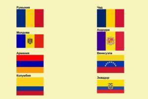 Синий желтый красный флаг какой страны вертикально. Чей флаг сине-жёлто-красный