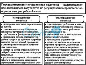 Иммиграционная политика России: пути реформирования и перспективы развития. Государственная миграционная политика: сущность, виды, цели и инструменты