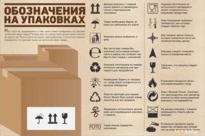 Знаки на коробках (упаковках): примеры, расшифровка. Правила маркировки пищевых продуктов
