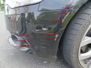 Поцарапал бампер и скрылся с места. Если поцарапал чужую машину и уехал — что грозит? Если заметил не сразу