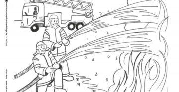 Раскраска на противопожарную тематику. Раскраски пожарная безопасность для детей