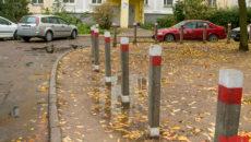 Как установить антипарковочные столбики во дворе. Антипарковочные столбики во дворах правила размещения