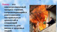 Что такое возгорание. Определение пожара