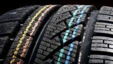 Что означают цветные полосы на новых шинах. Что означают цветные полоски на шинах